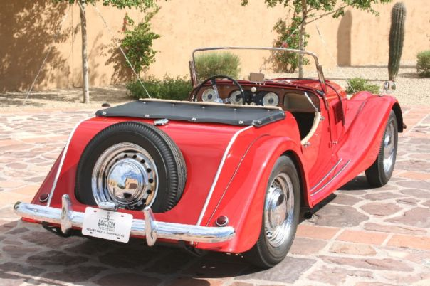 1957 Morgan Plus 4 #10