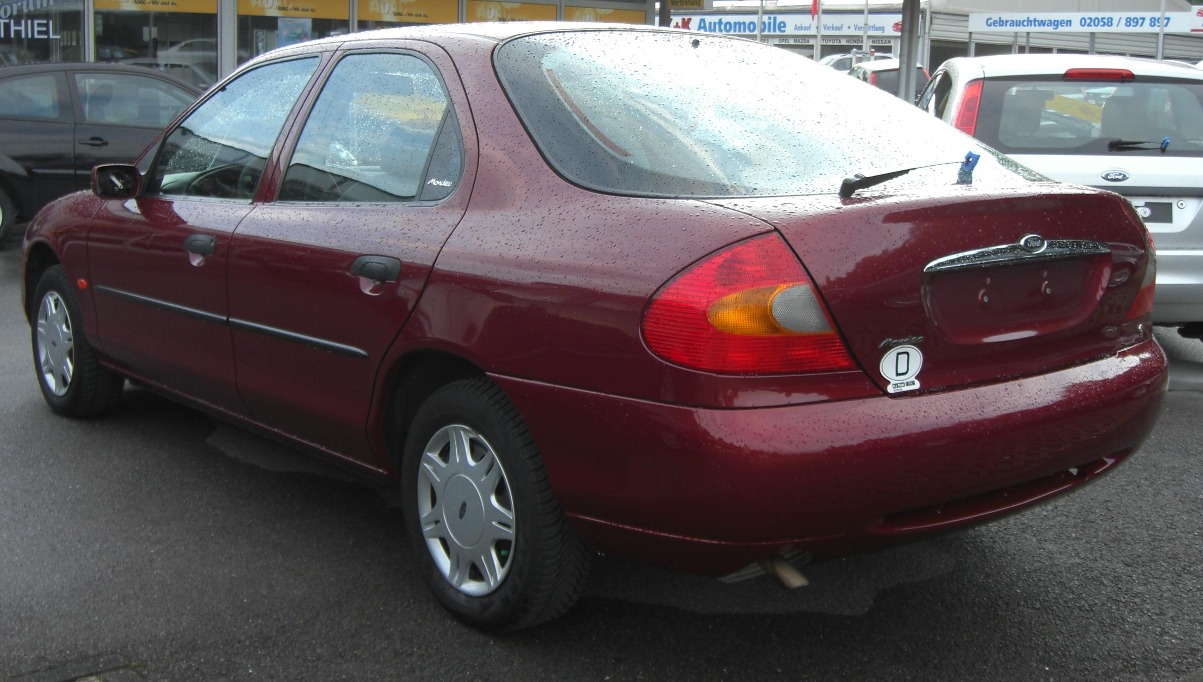 2000 Ford Mondeo #3