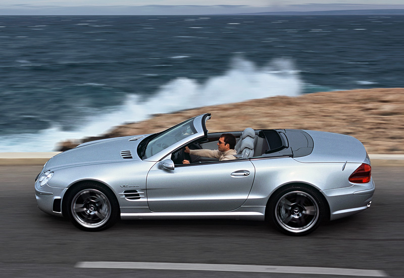 2004 Mercedes-Benz SL #7