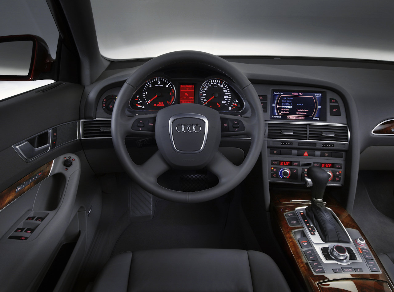 2005 Audi A6 Photos Informations Articles A4 Radio 1