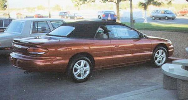 1996 Chrysler Sebring #5