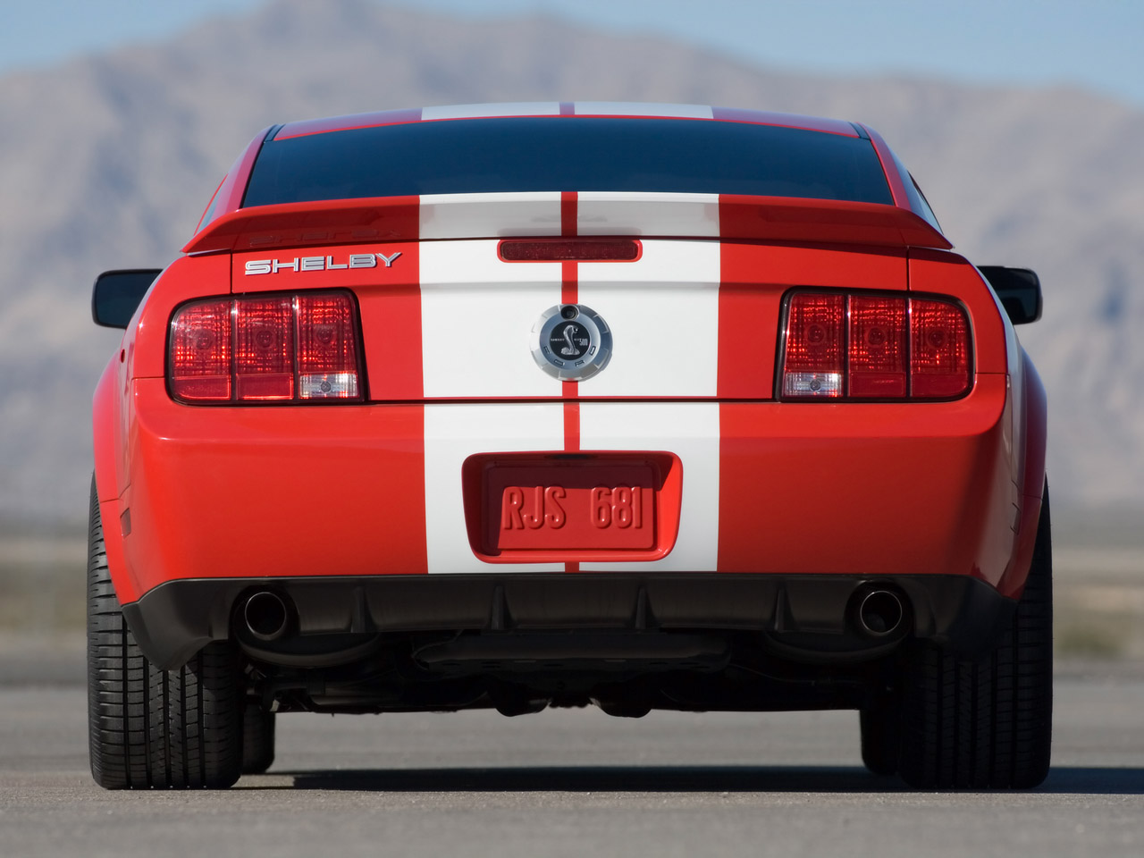 2007 Ford Shelby Gt500 #10