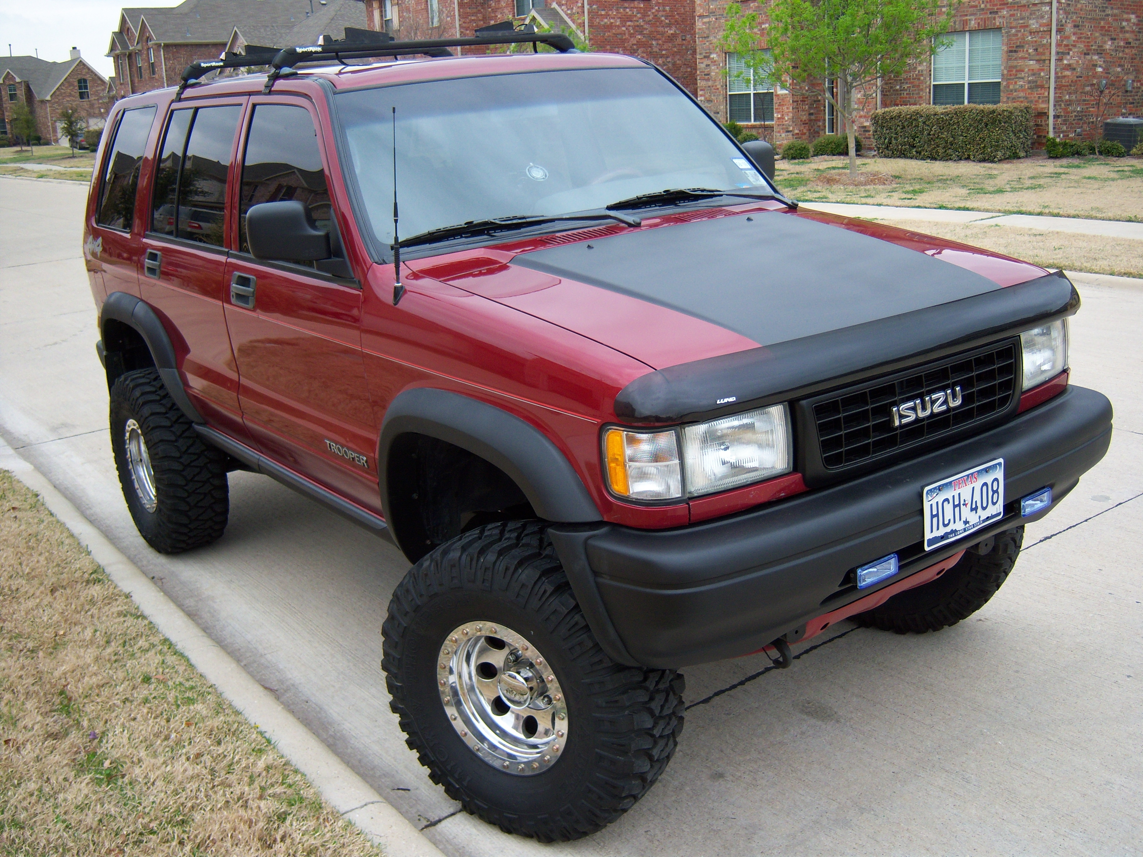 1995 Isuzu Trooper #15