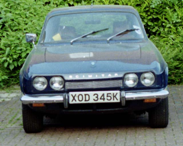 1997 Reliant Scimitar #5