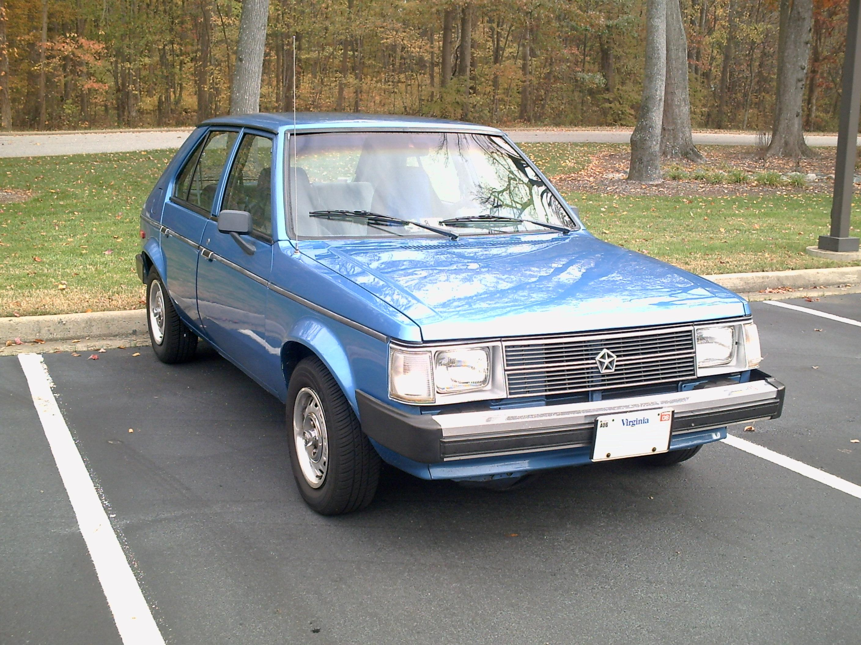 1990 Plymouth Horizon #14