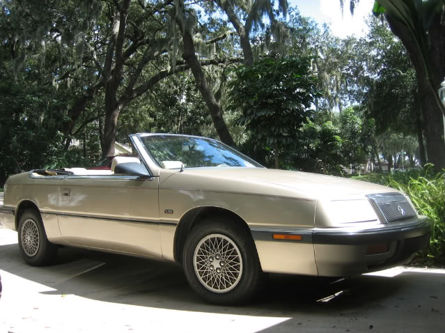 1991 Chrysler Le Baron #7