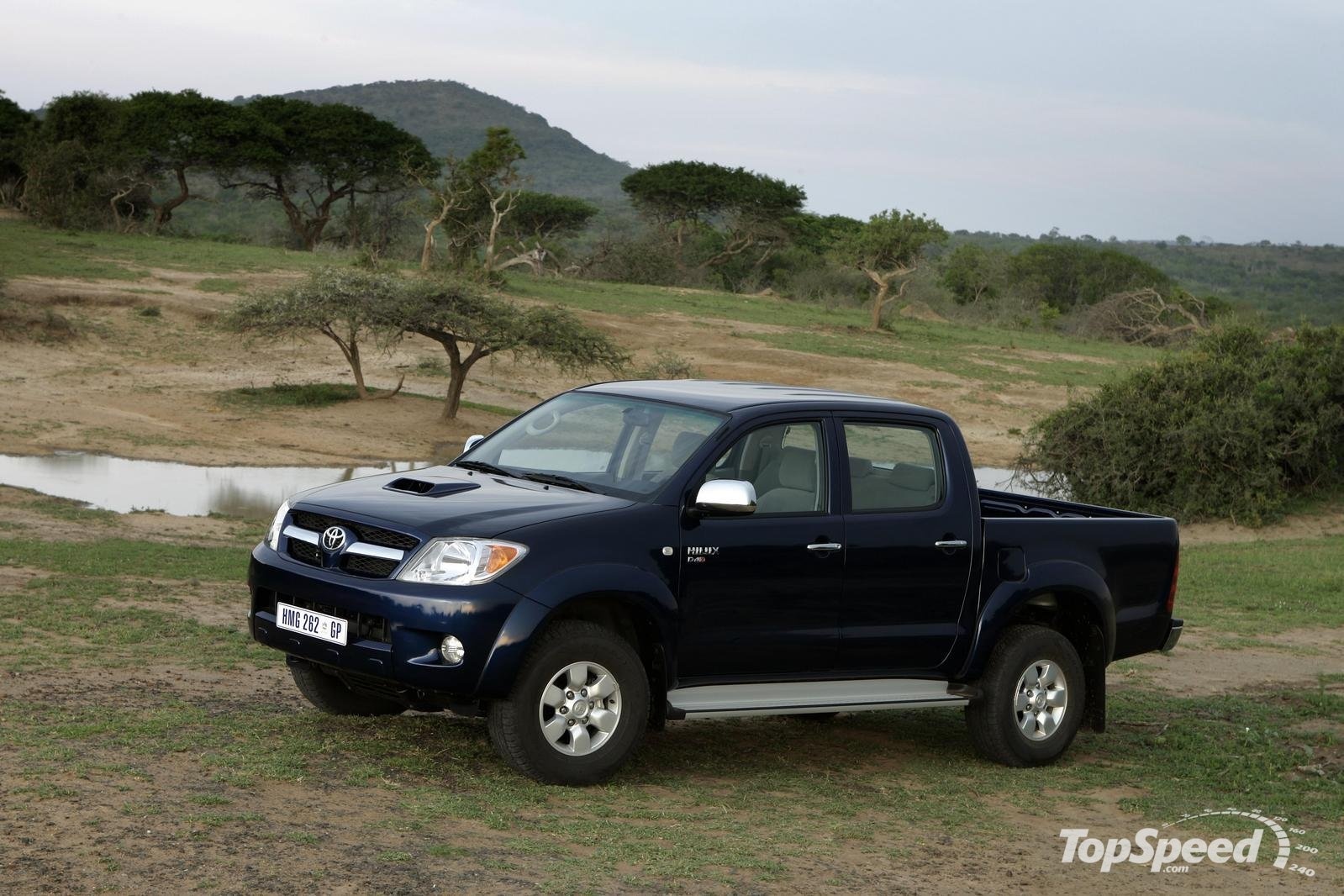 2007 toyota hilux photos informations articles. Black Bedroom Furniture Sets. Home Design Ideas