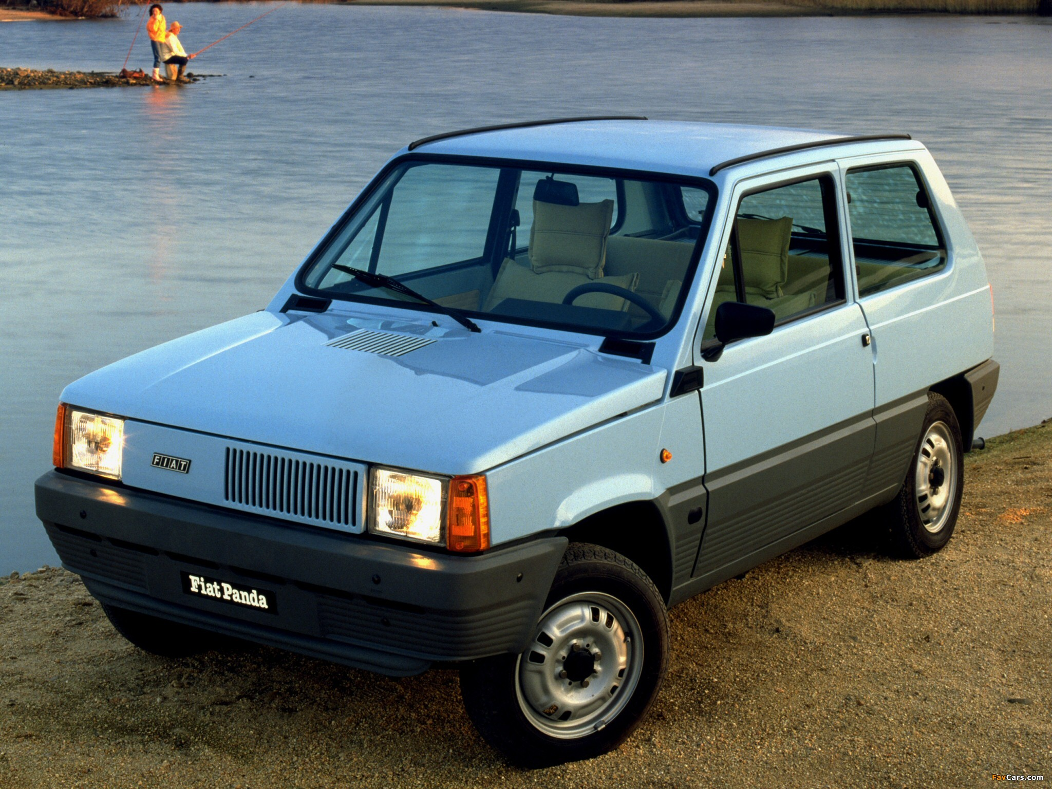 1980 fiat panda photos informations articles. Black Bedroom Furniture Sets. Home Design Ideas