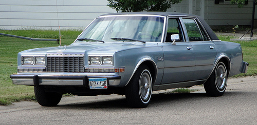 1984 Plymouth Gran Fury #12