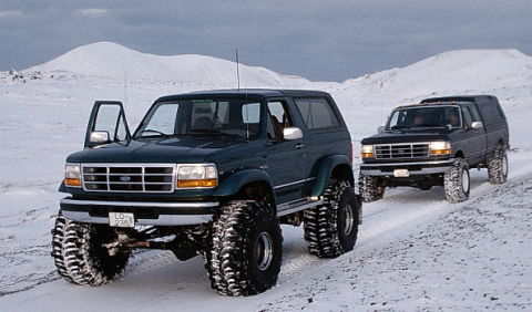 1996 Ford Bronco #9