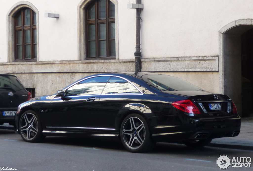 Mercedes-Benz CL #8