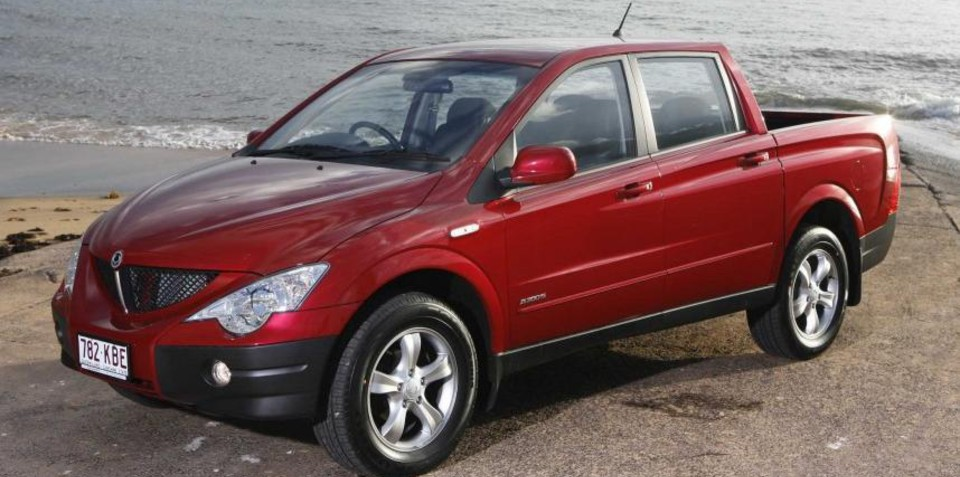 2008 Ssangyong Actyon #5