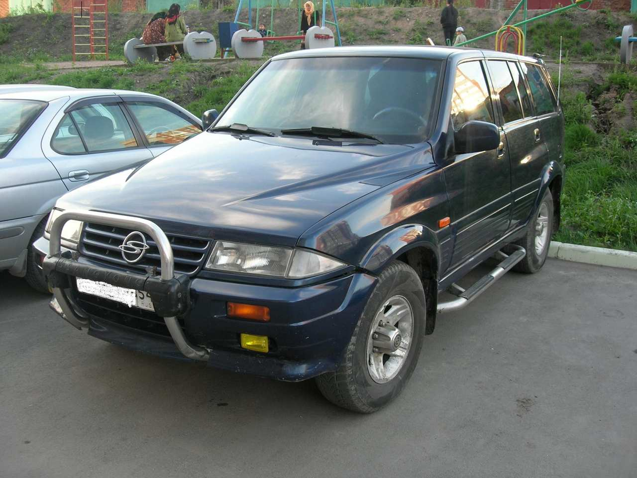 1997 Ssangyong Musso #14