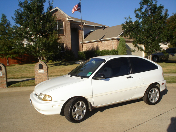 1995 Ford Aspire #10
