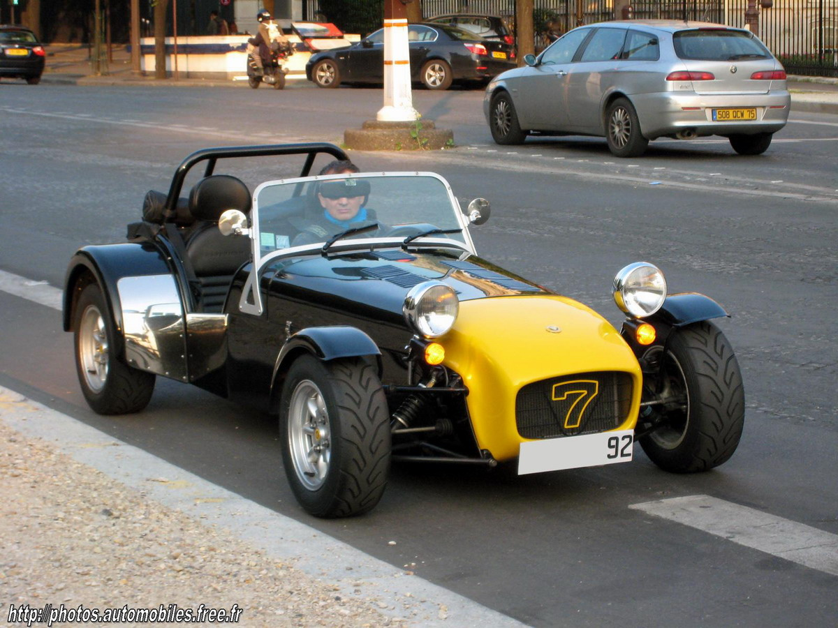 1992 Caterham Super 7 #3