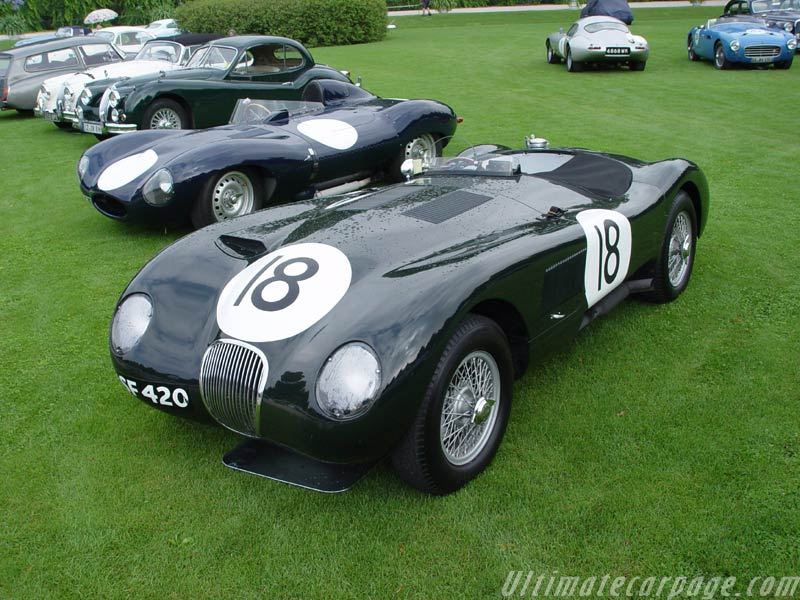1953 Jaguar C-Type #12