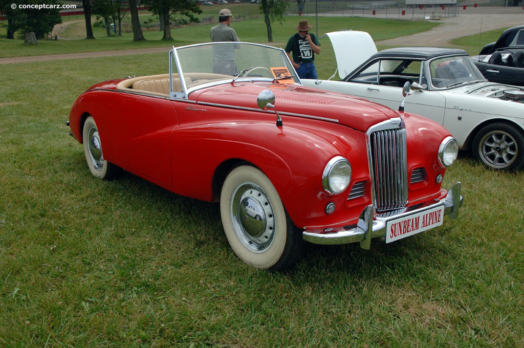 1954 Sunbeam Alpine #2