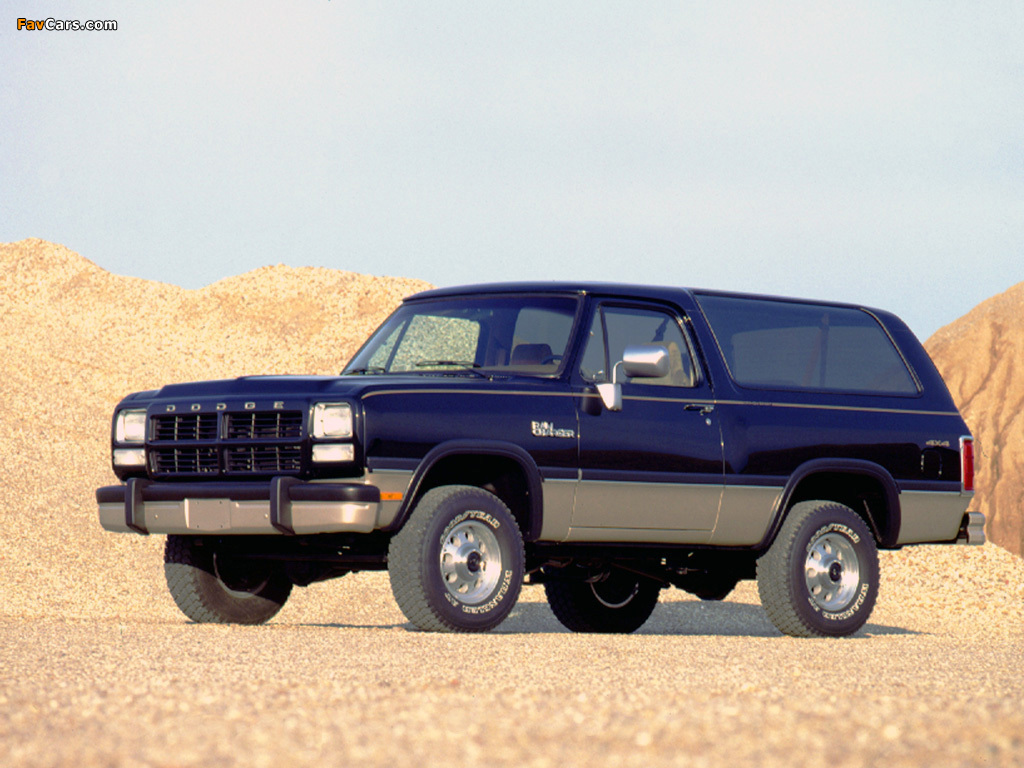1992 Dodge Ramcharger #3