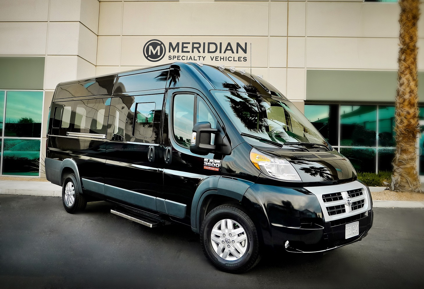 Ram Promaster Window Van #3