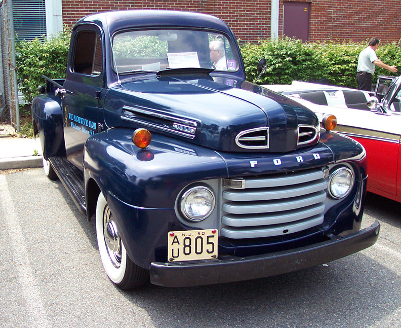 1950 Ford F #9