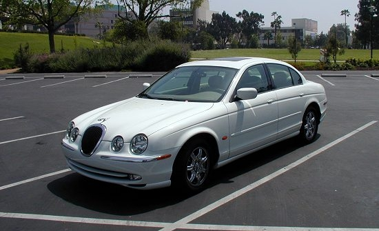 2001 Jaguar S-type #9