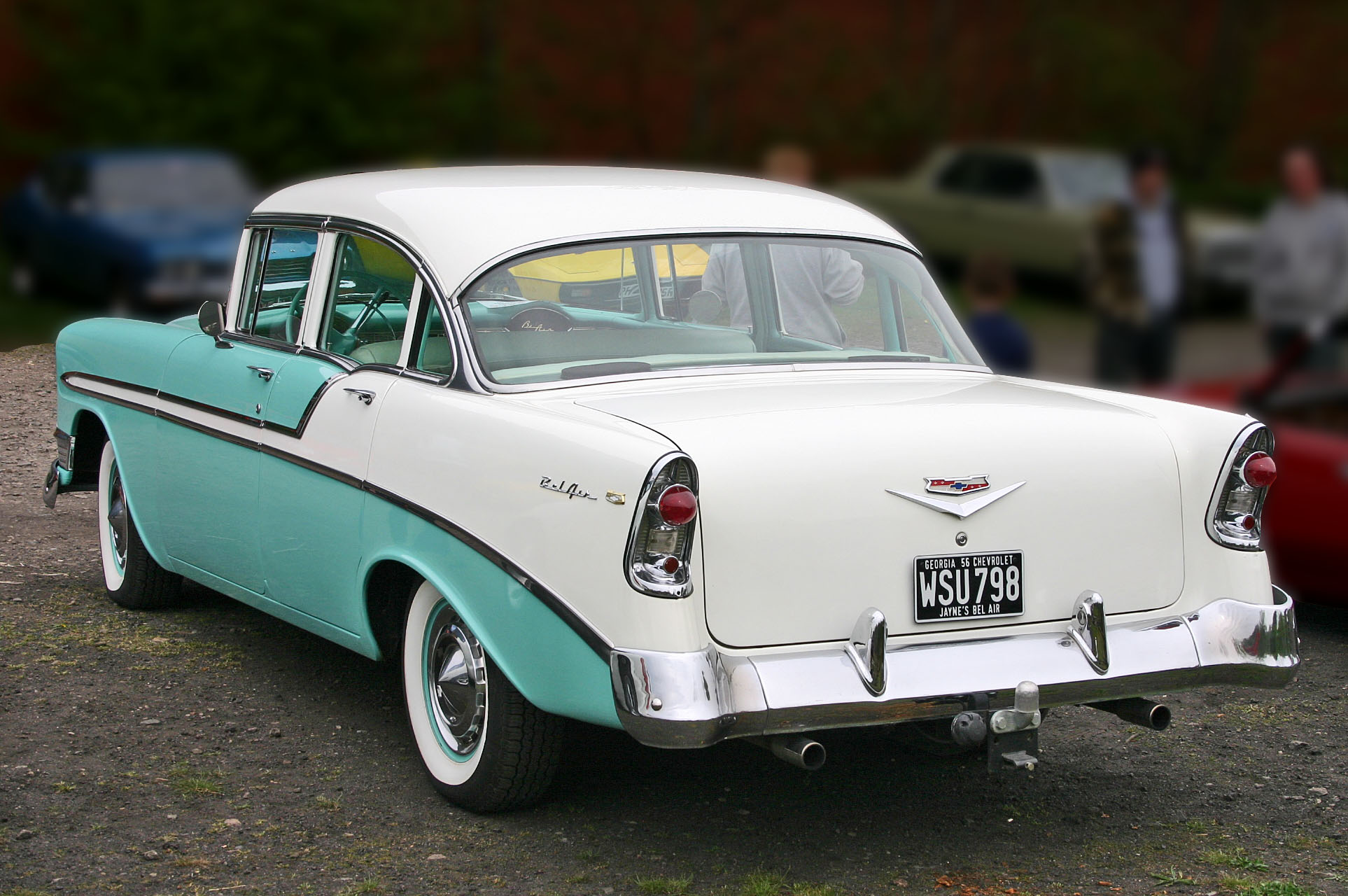 1956 Chevrolet Bel Air #12