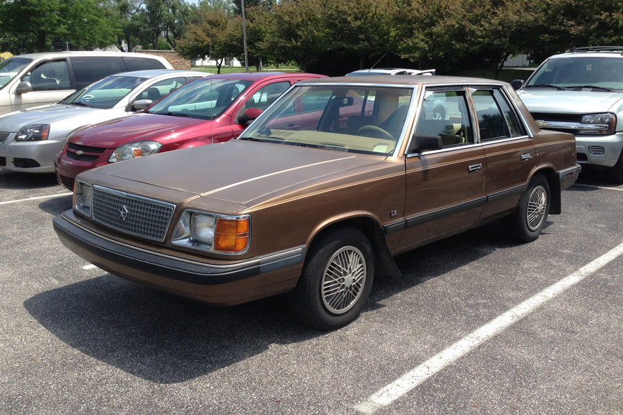 1986 Plymouth Reliant #4