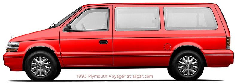1995 Plymouth Voyager #13
