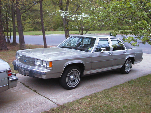 1991 Ford Ltd Crown Victoria #8