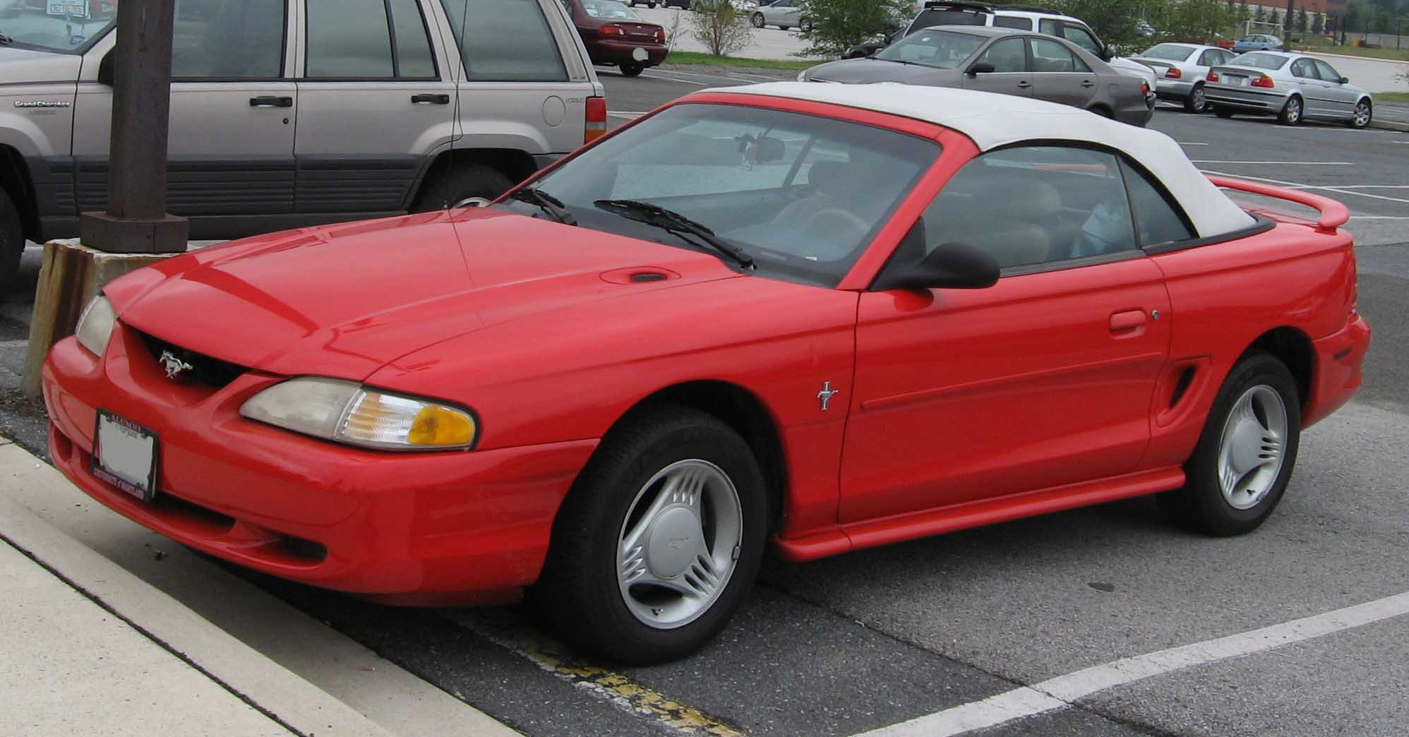 1994 Ford Mustang #9