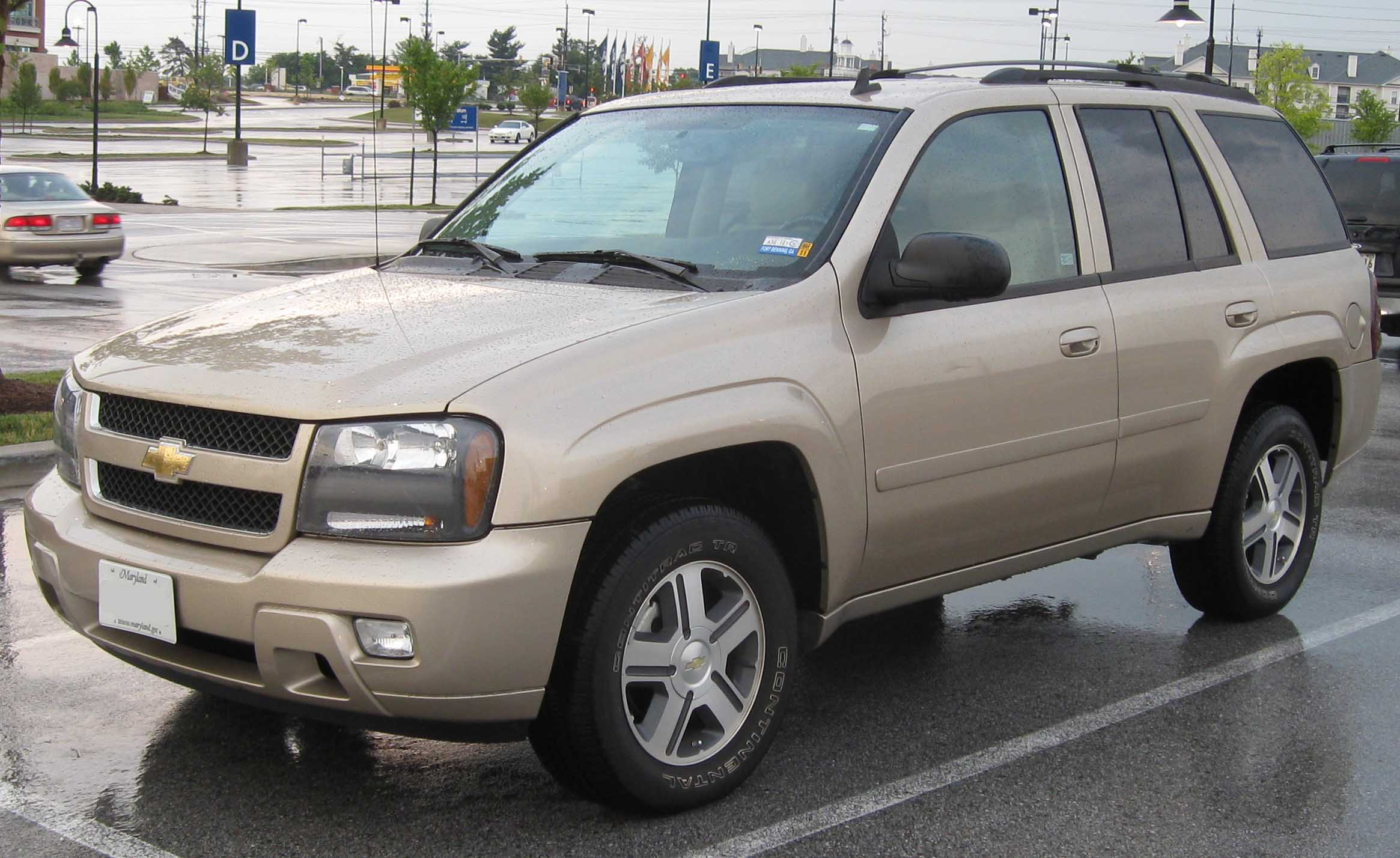 2009 Chevrolet Trailblazer #8