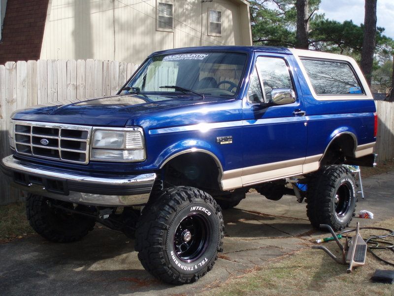 1996 Ford Bronco #5