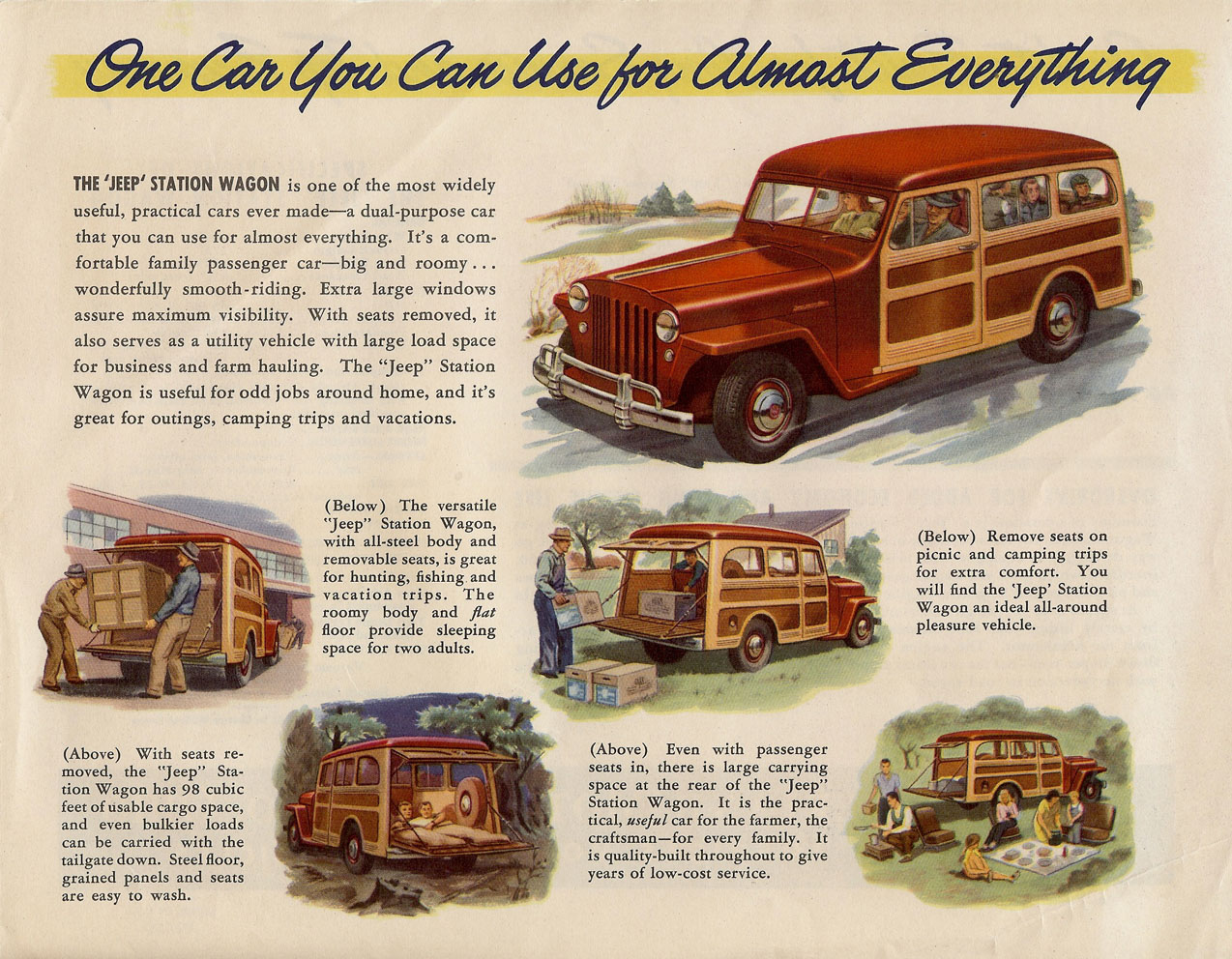 1948 Jeep Station Wagon #4