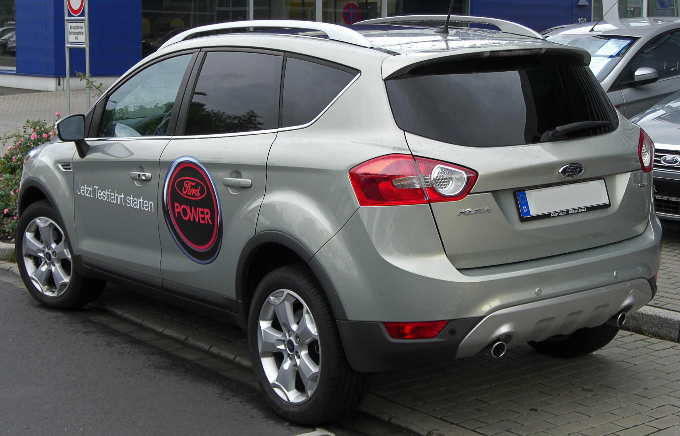 2010 ford kuga photos informations articles. Black Bedroom Furniture Sets. Home Design Ideas