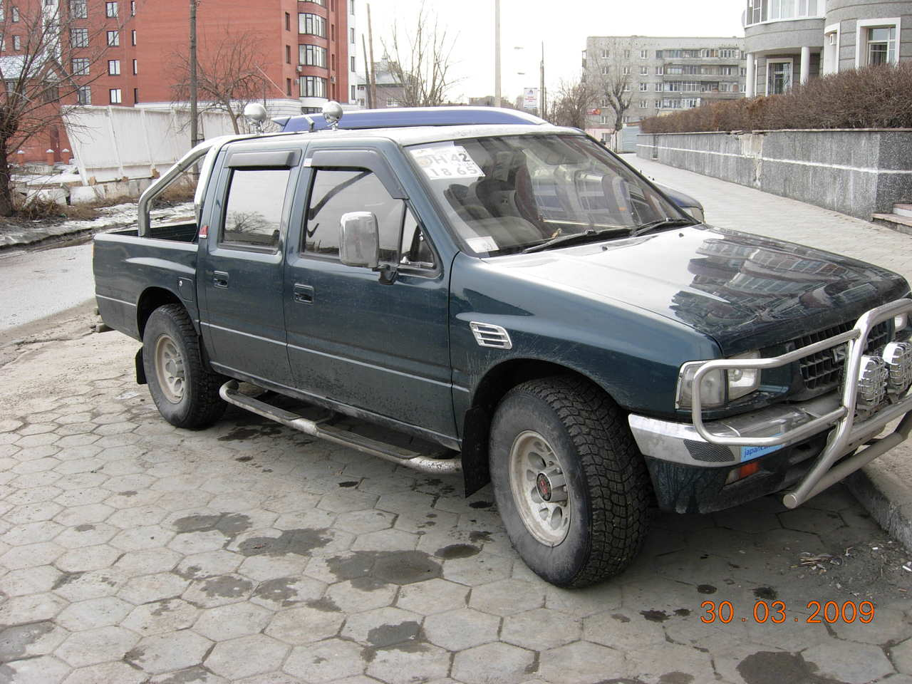 1993 Isuzu Rodeo #5