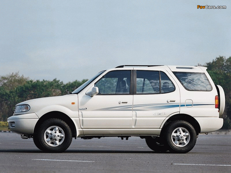 1998 Tata Safari #10