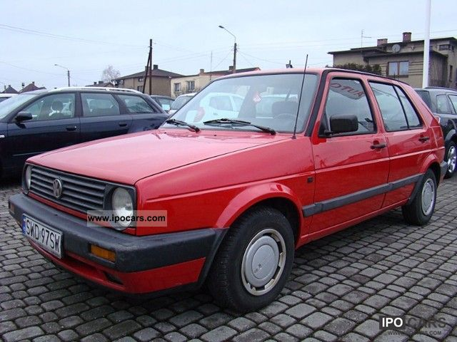 1991 Volkswagen Golf #12