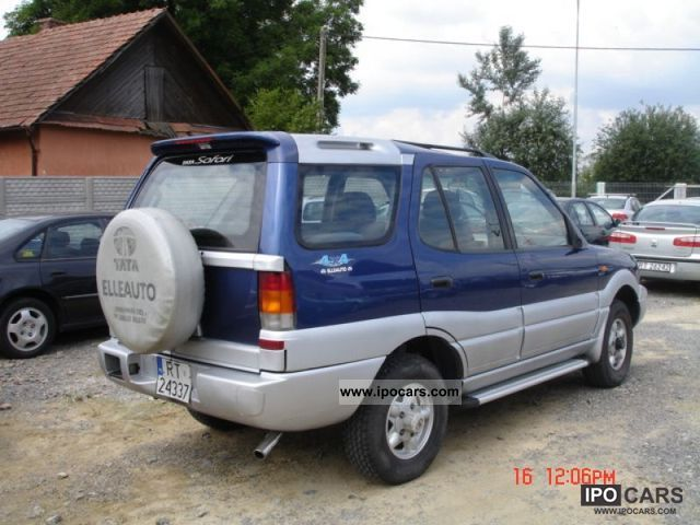 1999 Tata Safari #9