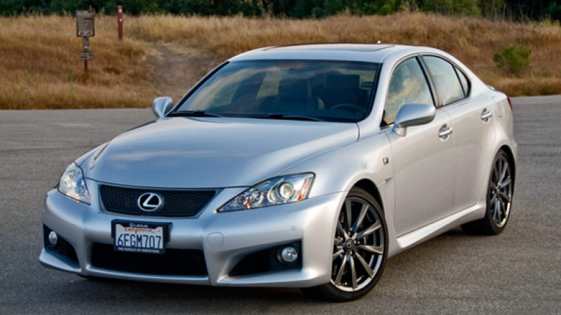 2009 Lexus Is F #8