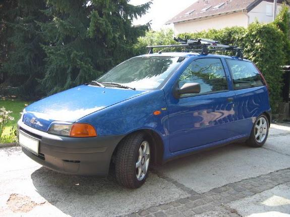 1996 fiat punto photos informations articles. Black Bedroom Furniture Sets. Home Design Ideas