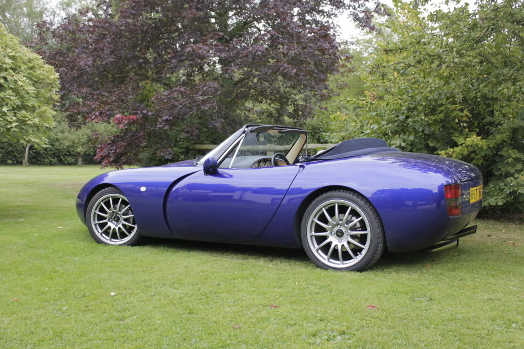 2001 TVR Griffith #4