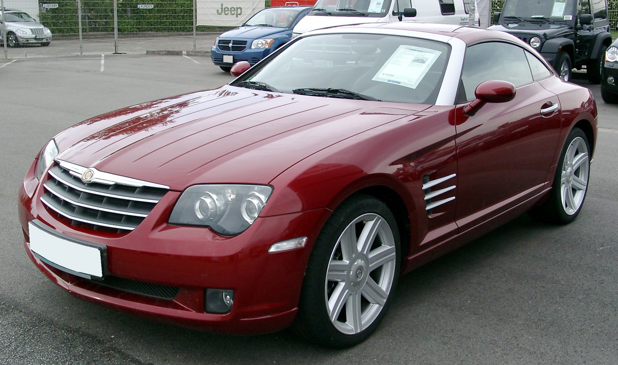 2008 Chrysler Crossfire #7