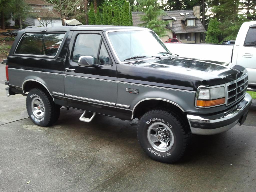 1993 Ford Bronco #8