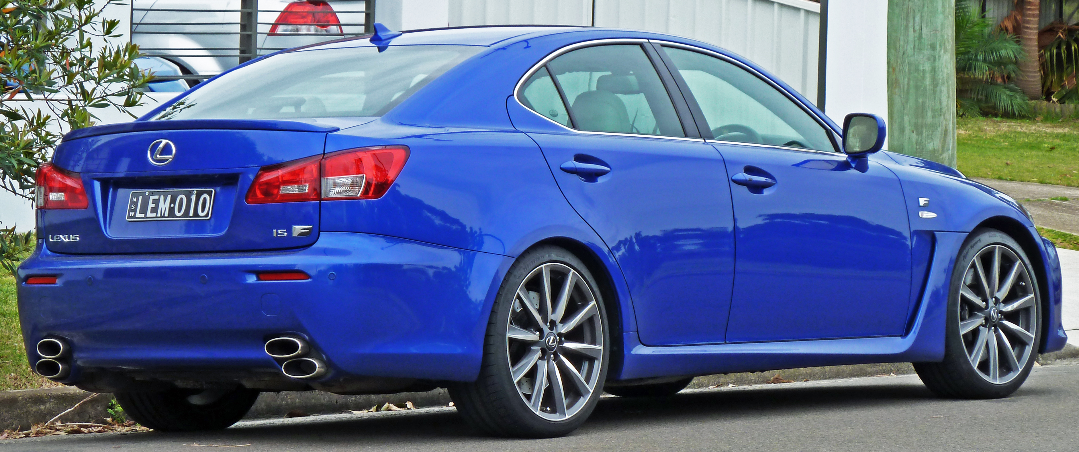 2008 Lexus Is F #11