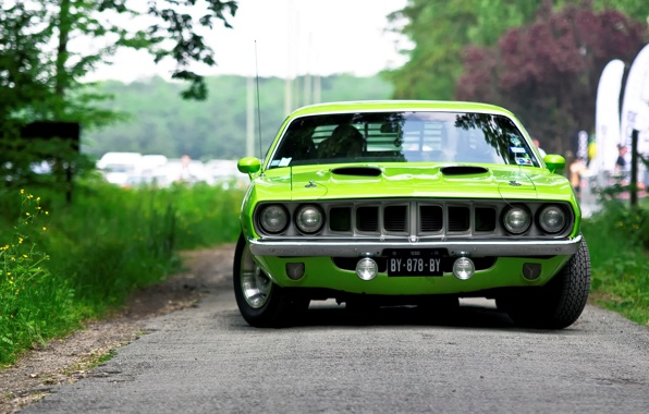 1971 Plymouth Barracuda #8