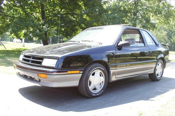 1990 Dodge Shadow #10