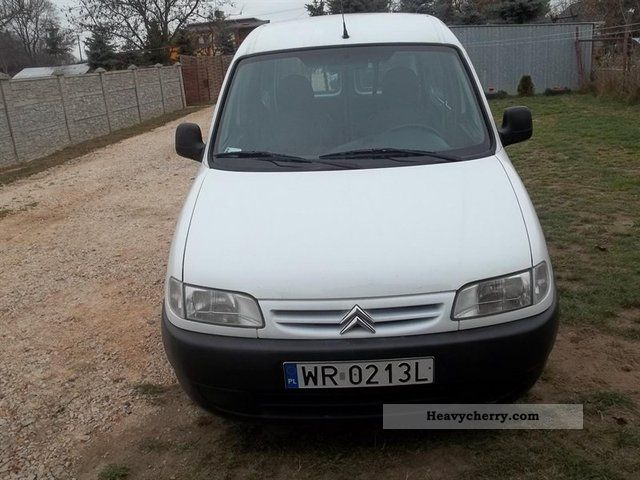 2001 Citroen Berlingo #11