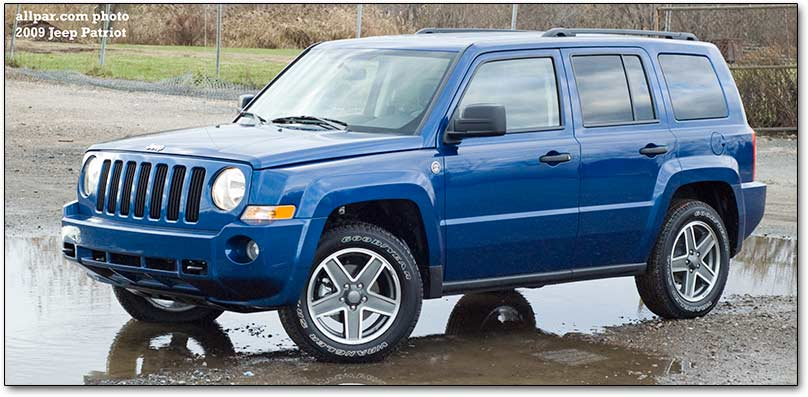 2009 Jeep Patriot #12