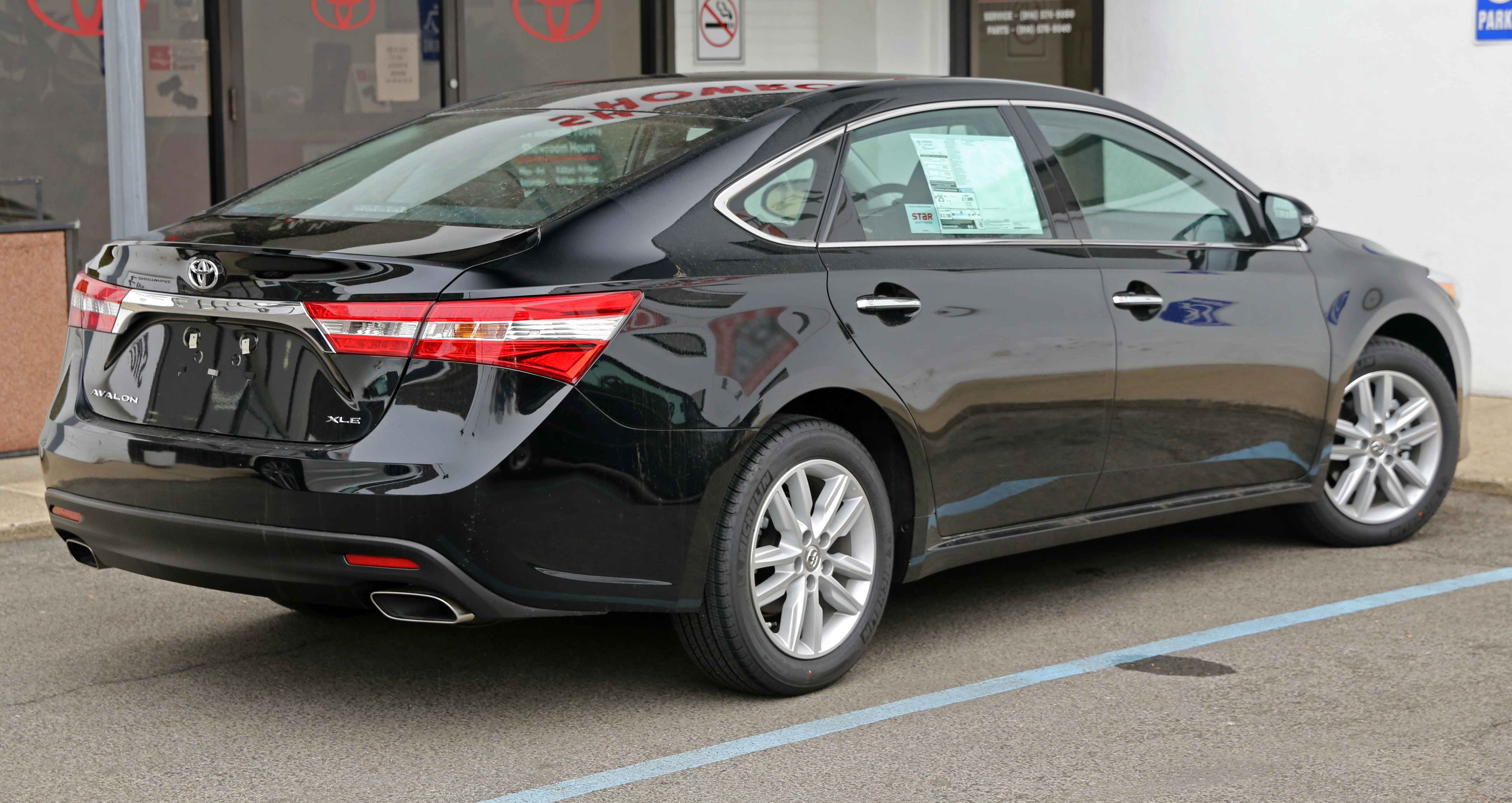 of for trim toyota changes rest edition xle avalon the car sport gains touring news interior