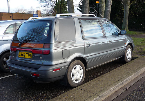 1994 Mitsubishi Space Wagon #13